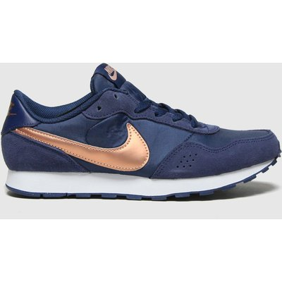 Nike Navy & Gold Md Valiant Trainers Youth