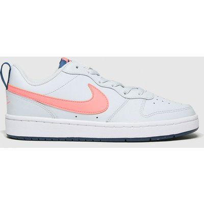 Nike Grey Court Borough Low 2 Se Trainers Youth