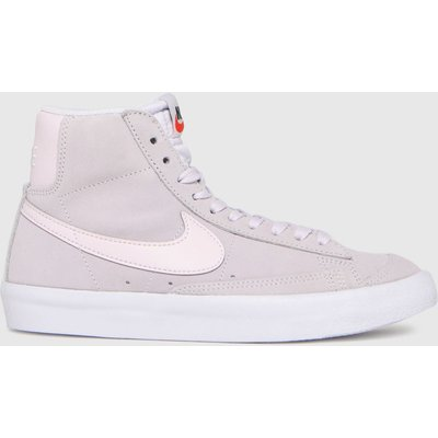 Nike Lilac Blazer Mid 77 Se Trainers Youth