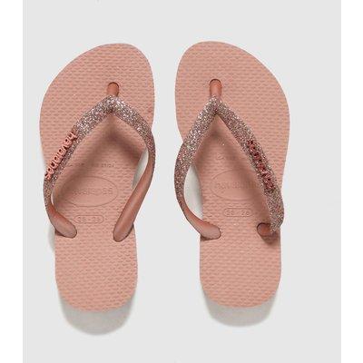 Havaianas Pale Pink Slim Glitter Ii SANDAL Youth
