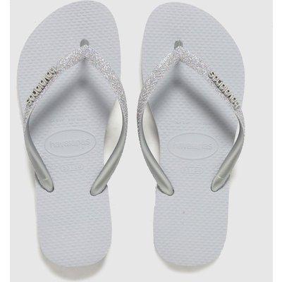 Havaianas Grey Slim Glitter Ii SANDAL Youth
