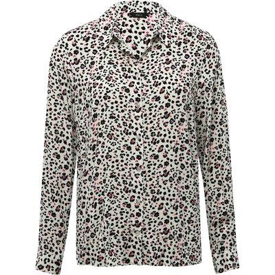 Women's Ladies long sleeve animal print blouse