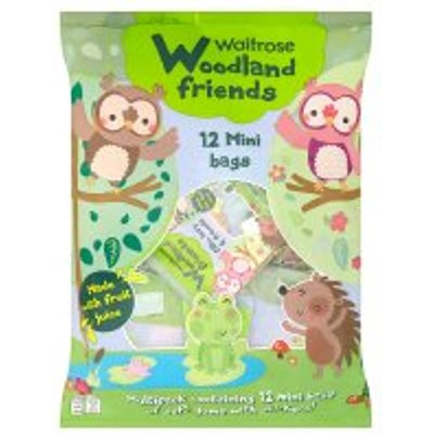 Woodland Friends 12 mini bags soft gums   stickers - 05000169299050