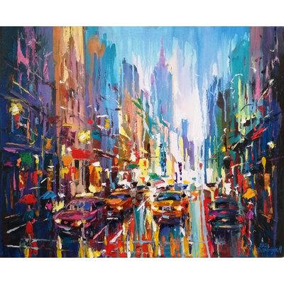 Abstract cityscape (New York)