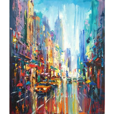 Abstract cityscape (New York)02