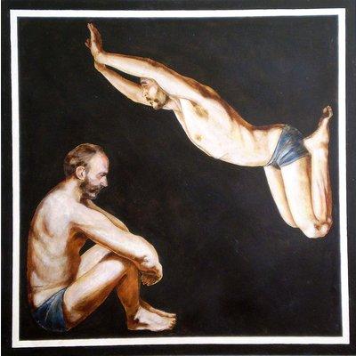 Double portrait-II(The Pollock-Krasner Foundation Grant,New York,2003)