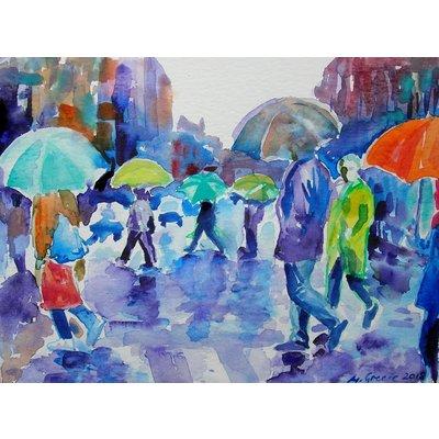 Colors of rain in New York