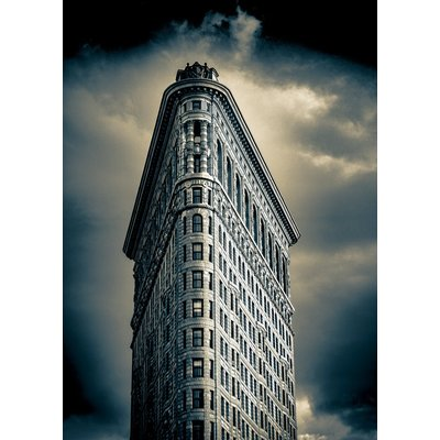 Flatiron Building - New York (Vintage Print )