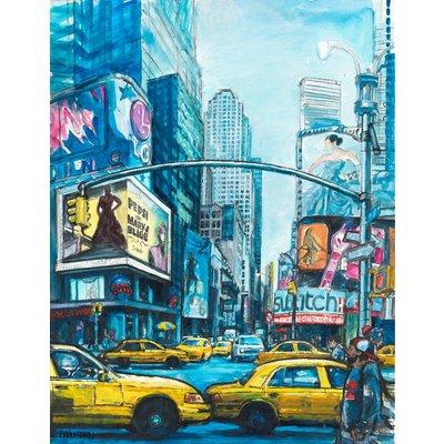 Manhattan Broadway New York cityscape