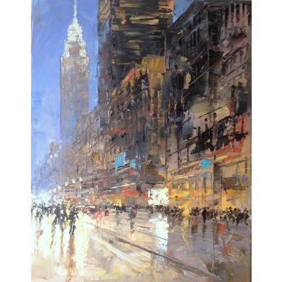 CITY LIGHTS N50. NEW YORK.