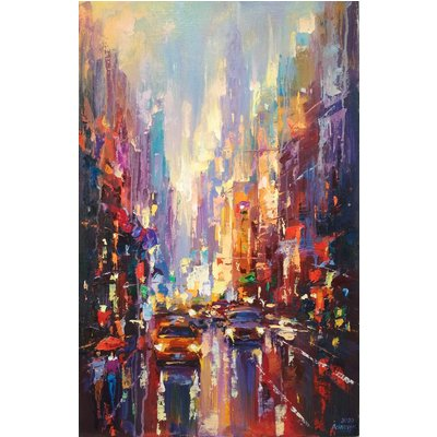 Abstract cityscape (New York) 01
