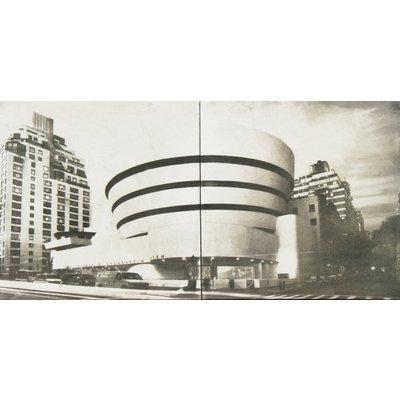 "Frank Lloyd Wright "" � Peggy Guggenheim Museum "" � New York - Ceramic -"