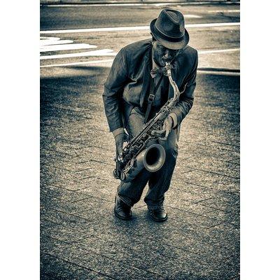 Jazzman New York ( Vintage Print)
