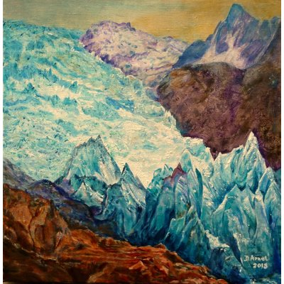 glacier des Bossons (New York Expo from February 27 to March 3, 2019)