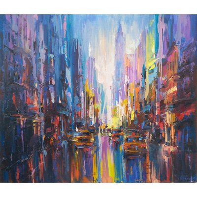 Abstract cityscape (New York)01