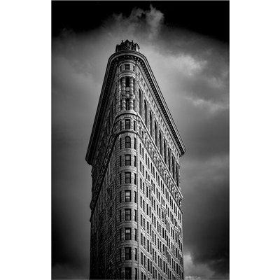 Flatiron Building - New York (Silver Gelatin Darkroom Print)