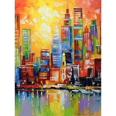 Bright new York city