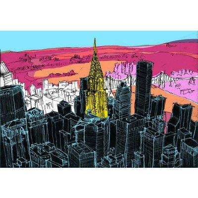 Chrysler Building and Midtown, New York