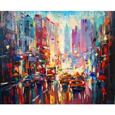 Abstract cityscape (New York) 05