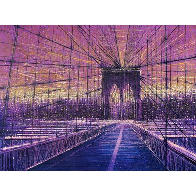 Brooklyn Bridge, New York, At Last Light