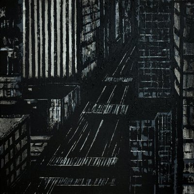 - New York city /40x40 cm/ ready to hang