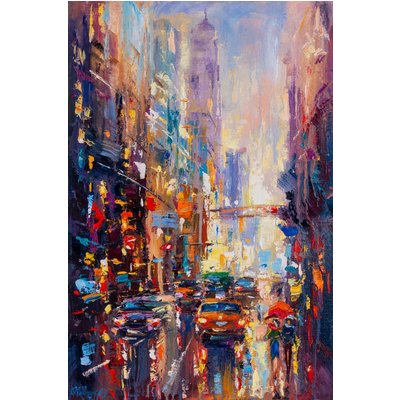 Abstract cityscape (New York) 02