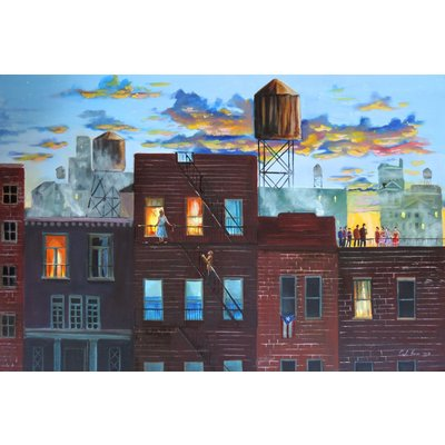 """"""" West Side Story"""" New York large cityscape"""