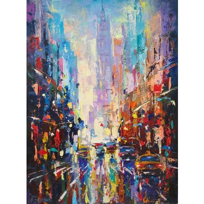 Abstract cityscape (New York) 04