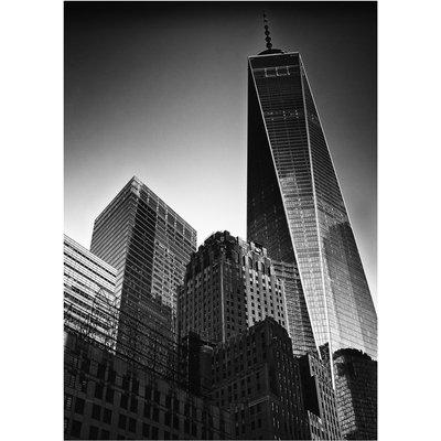 Freedom Tower - New York (Silver Gelatin Darkroom Print)