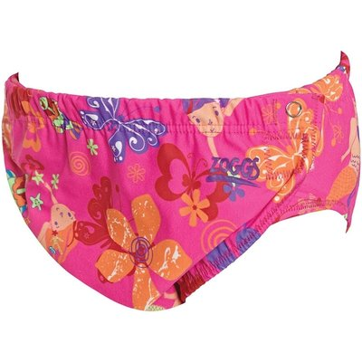 Zoggs Adjustable Swim Nappy Mermaid Flower - 3-24 Months  3-24 Months