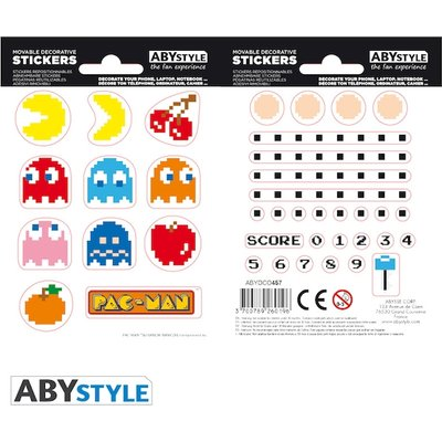Pac-Man - Maze Mini Stickers