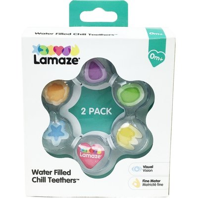 Lamaze Water Filled Baby Teether Toy - Set Of 2