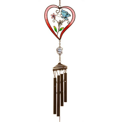 Red Heart Windchime