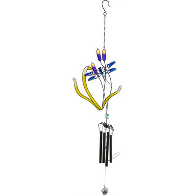 Dragonfly and Reeds Windchime