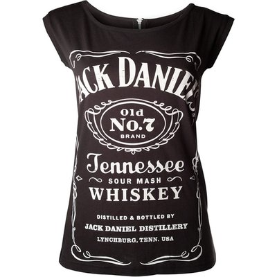Jack Daniel'S - Old No.7 Brand Women's X-Large Shirt - Black