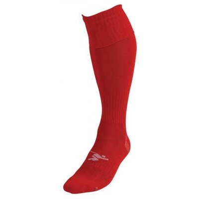 PT Plain Pro Football Socks LBoys Red