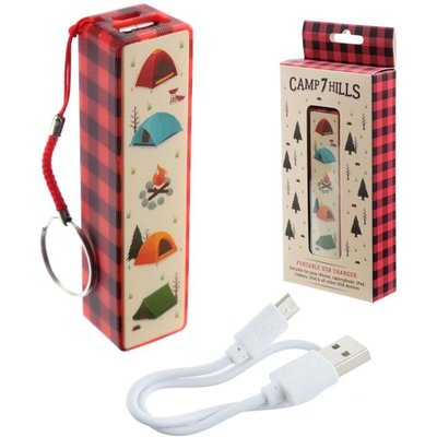 Camping Design Handy Portable USB Power Bank