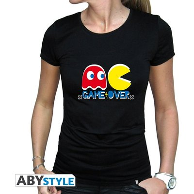 Pac-Man - Game Over Women's X-Large T-Shirt - Black