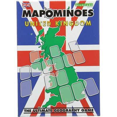 Mapominoes UK The Ultimate Geography Game