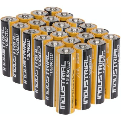 Duracell Industrial AA Alkaline Batteries Tub of 24