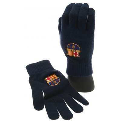 FC Barcelona Knitted Gloves Adult
