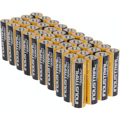 Duracell Industrial AA Alkaline Batteries Tub of 40