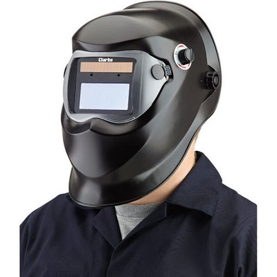 15% Off Weekend Clarke GWH4 Black Arc Activated Solar Powered Grinding/Welding Headshield