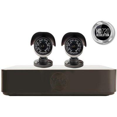 Yale Yale Y402B-HD Premium 2 Camera CCTV Kit