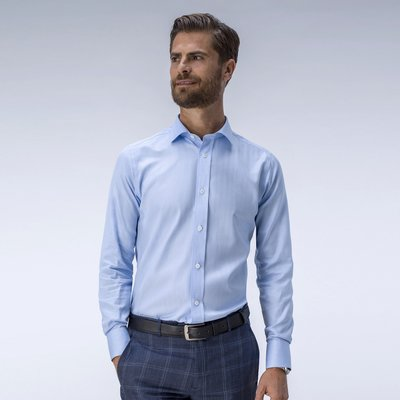 Light blue business shirt