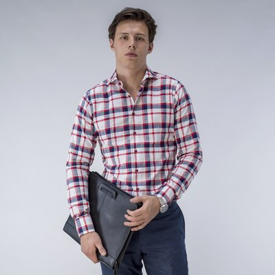 Red and White Checked Shirt