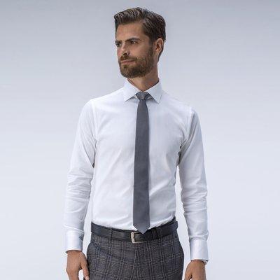 Executive dress shirt in white