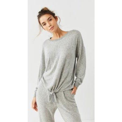 Out From Under Cosy Knot Top, grey
