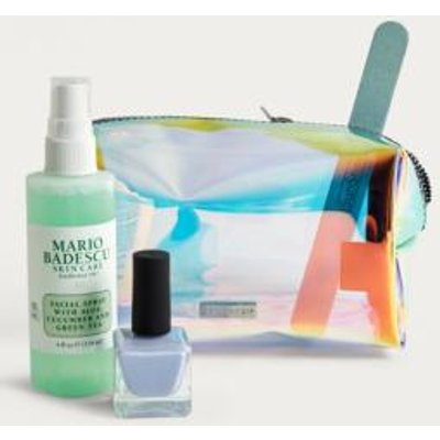 Skinnydip Dazzle Holographic Make-Up Bag, assorted