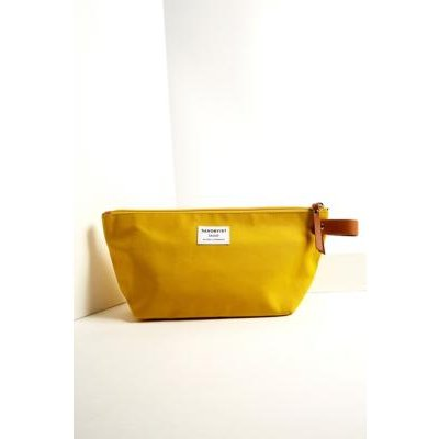 Sandqvist Cleo Yellow Wash Bag, Yellow